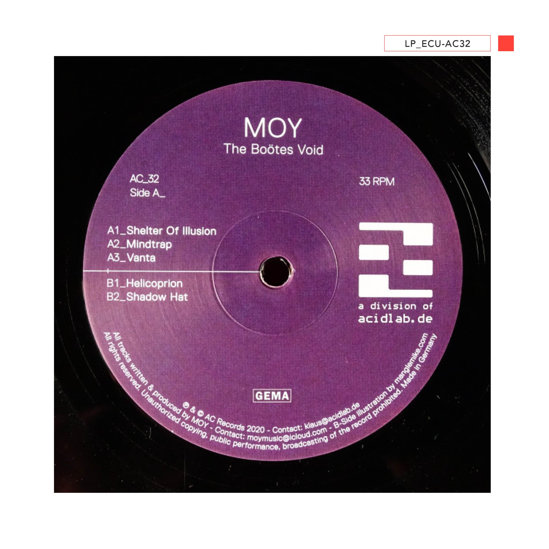 LP - ECU-AC32 - MOY - The Boötes Void
